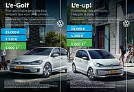 VW e-Up & VW e-Golf